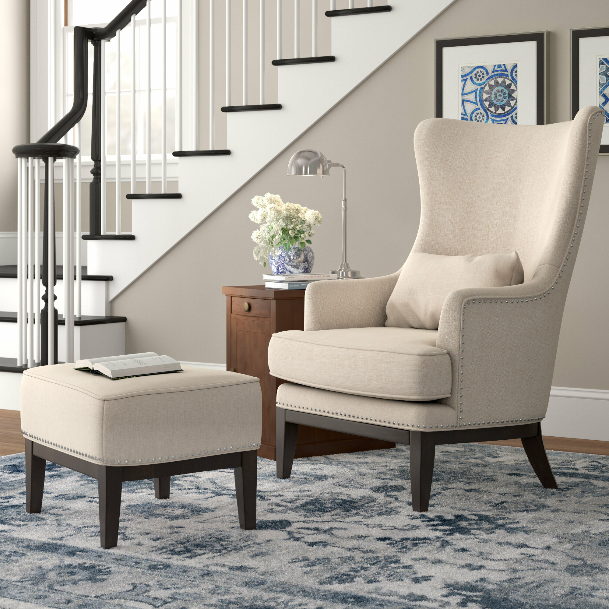 Widely Used Busti Wingback Chairs With Caistor (View 15 of 20)