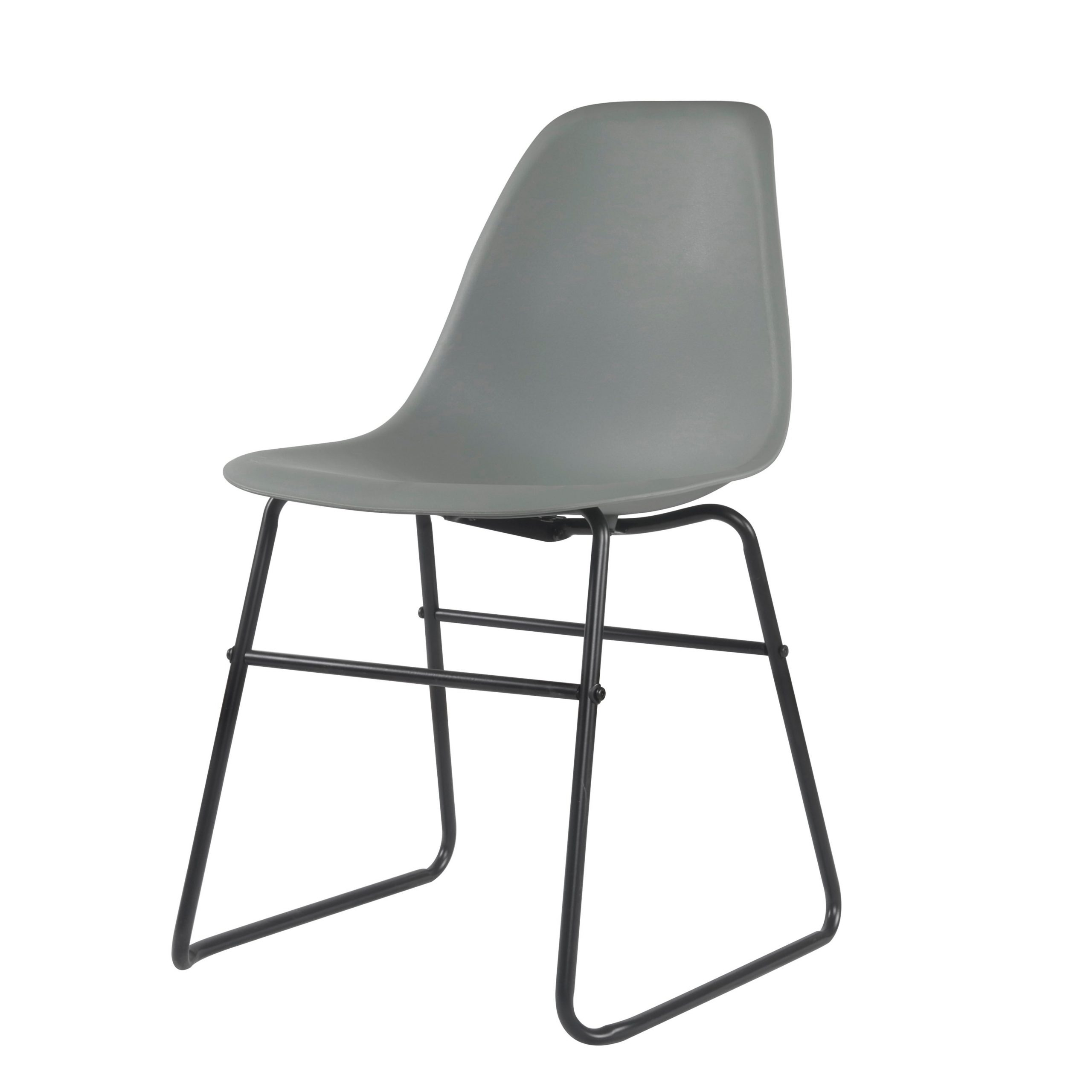 Widely Used Porthos Home Alivia Armless Modern Dining Chairs Set Of 2, Iron Legs For Aalivia Slipper Chairs (View 14 of 20)