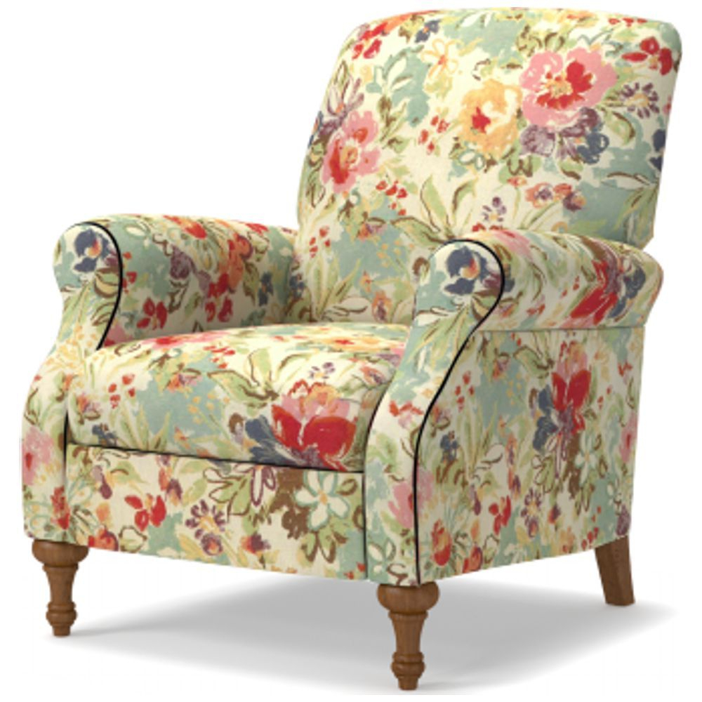 Widely Used Waterton Wingback Chairs With Regard To Raleigh High Leg Reclining Chair (View 12 of 20)