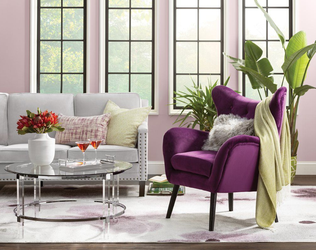 Wingback Chair, Living Room In Best And Newest Bouck Wingback Chairs (View 9 of 20)
