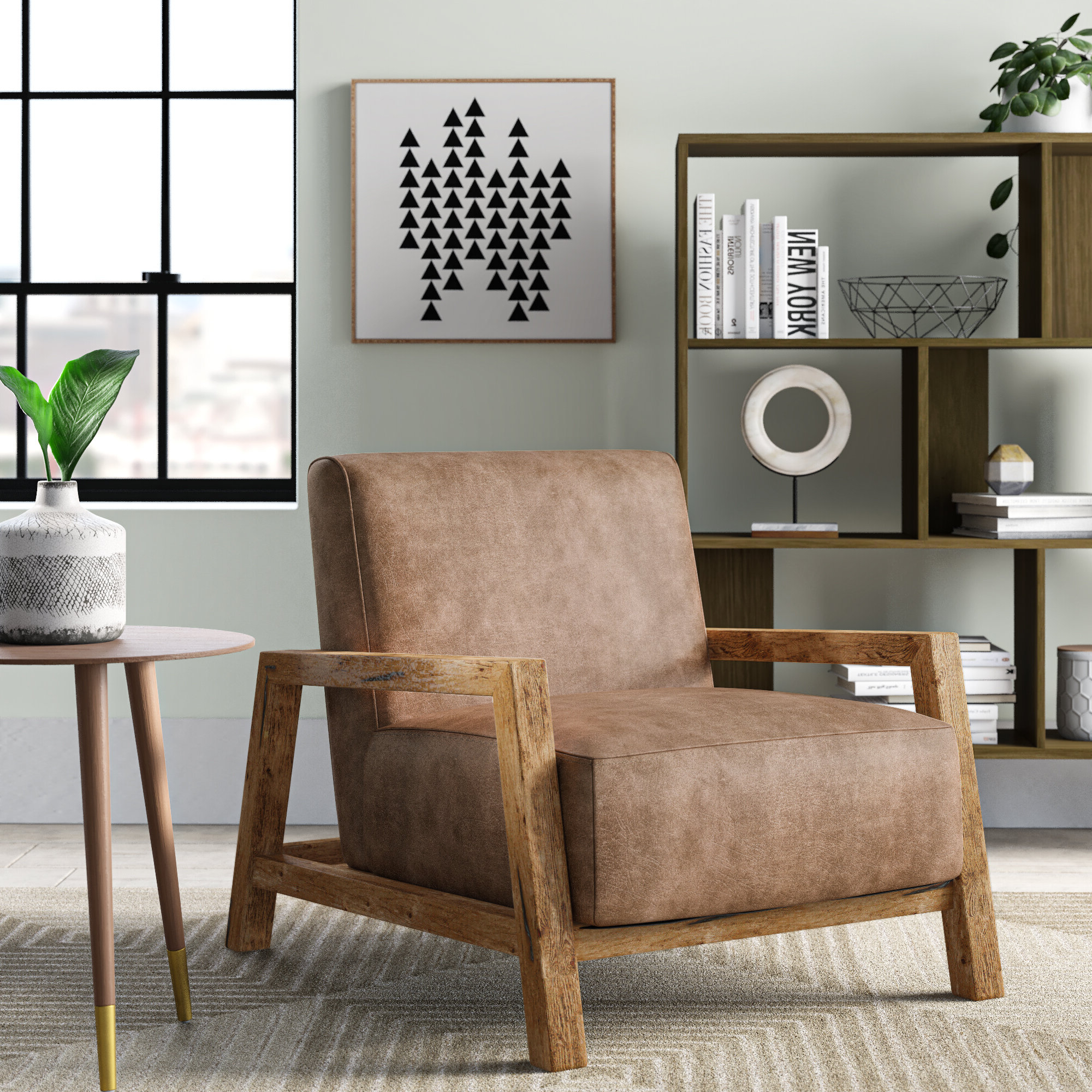 Winhall Armchair With Regard To Trendy Ronald Polyester Blend Armchairs (View 12 of 20)