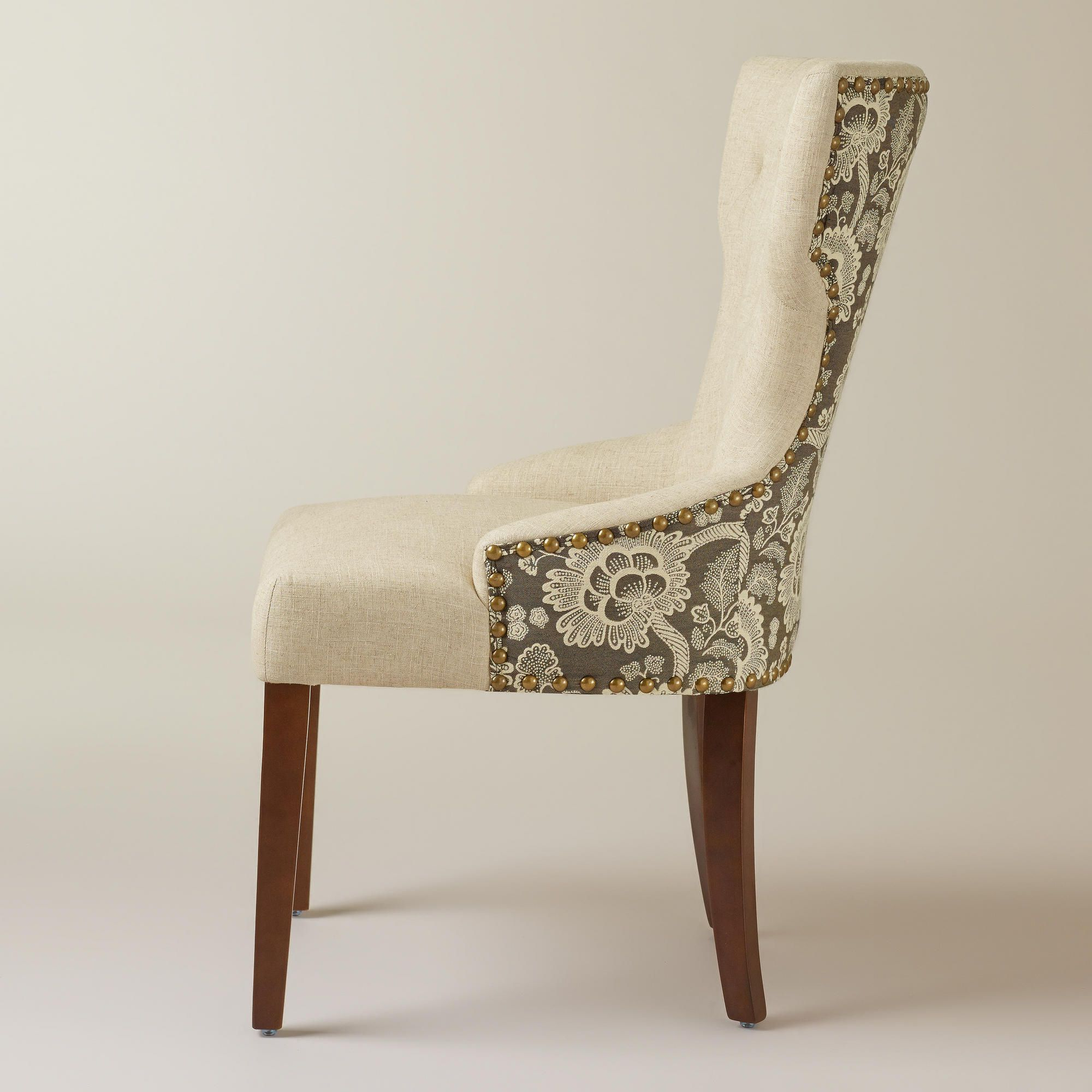 World Market Pertaining To Most Current Chiles Linen Side Chairs (View 5 of 20)