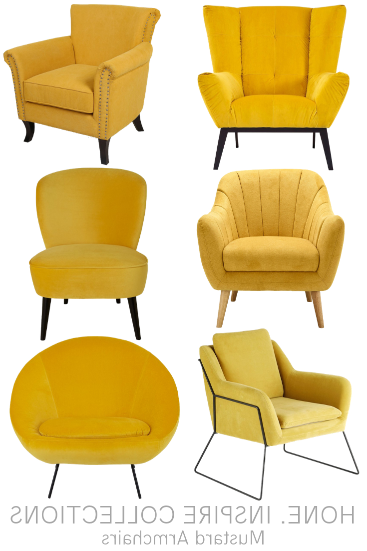 Yellow Furniture, Yellow With Best And Newest Dara Armchairs (View 14 of 20)