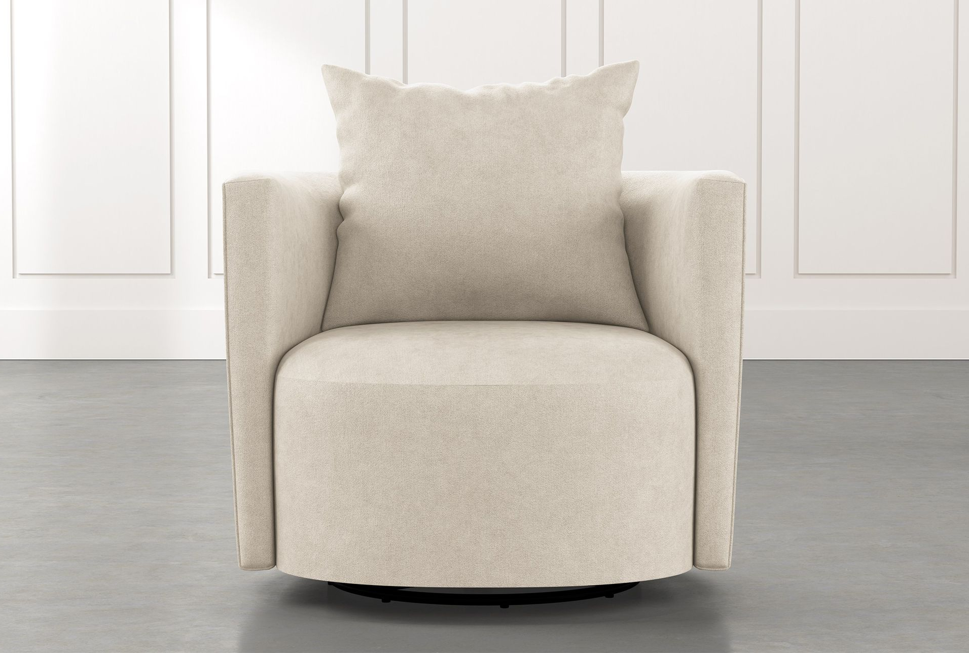 Zalina Swivel Armchairs With 2020 Twirl Beige Swivel Accent Chair In  (View 13 of 20)
