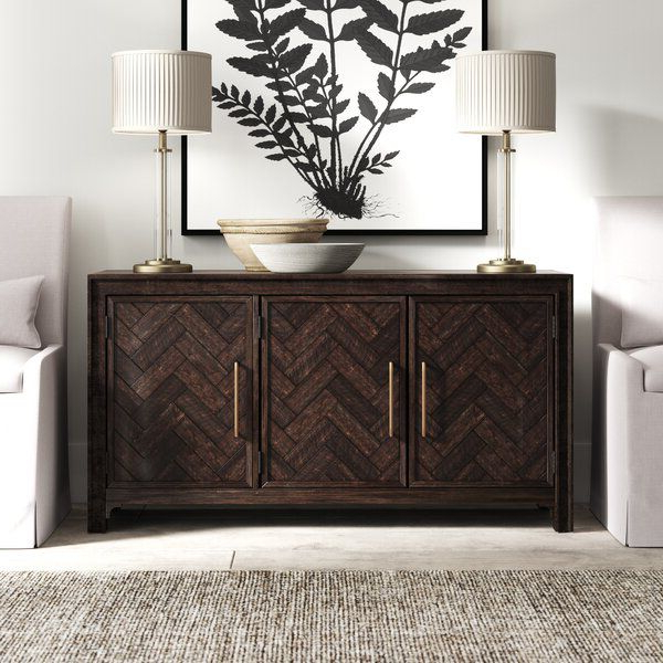 """2019 Benghauser 63"""" Wide Sideboards With Regard To Fincher 60"""" Wide Sideboard In (View 9 of 20)"""