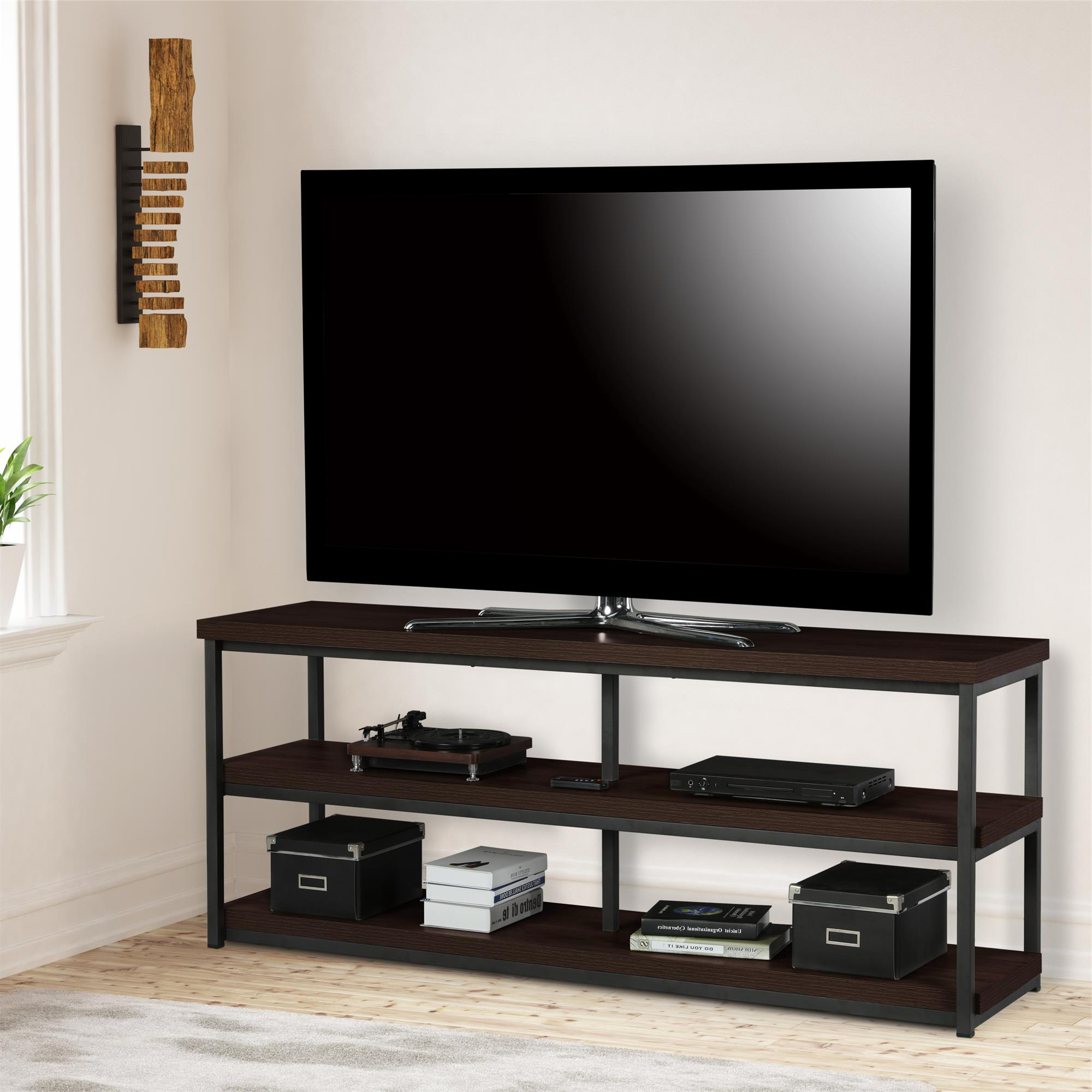 """2019 Buckley Tv Stands For Tvs Up To 65"""" Intended For Ameriwood Home Ashlar Tv Stand For Tvs Up To 65"""", Espresso (View 7 of 20)"""