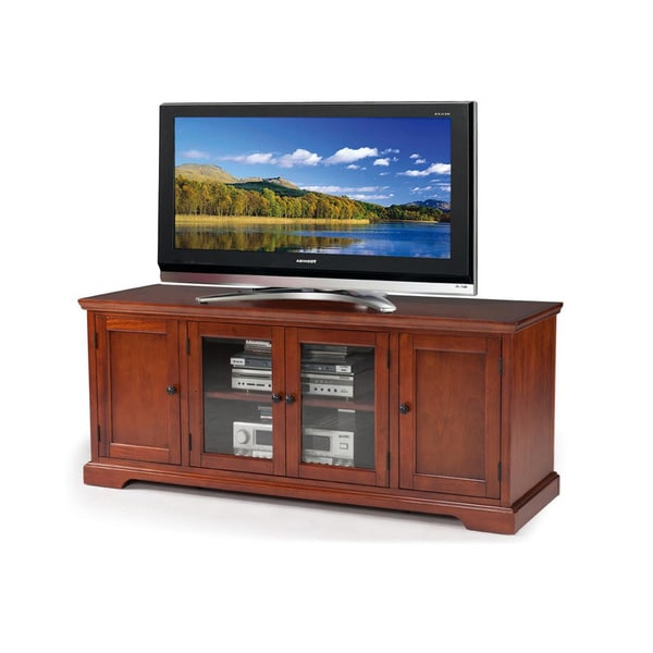 """2019 Leafwood Tv Stands For Tvs Up To 60"""" With Regard To Westwood 60 Inch Cherry Hardwood Tv Stand – (View 10 of 20)"""