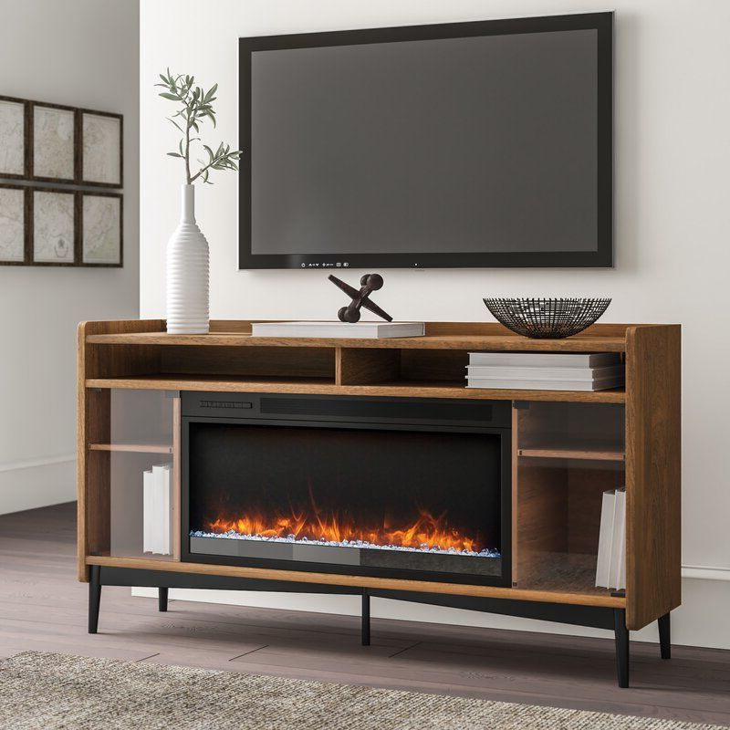 """2019 Metin Tv Stands For Tvs Up To 65"""" Inside Gutierrez Tv Stand For Tvs Up To 65 Inches With Fireplace (View 15 of 20)"""