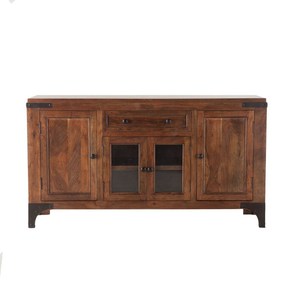 """2019 Shop Irondale Acacia Wood 62 Inch Sideboard – Overstock For Elllise 62"""" Wide Sideboards (View 6 of 20)"""