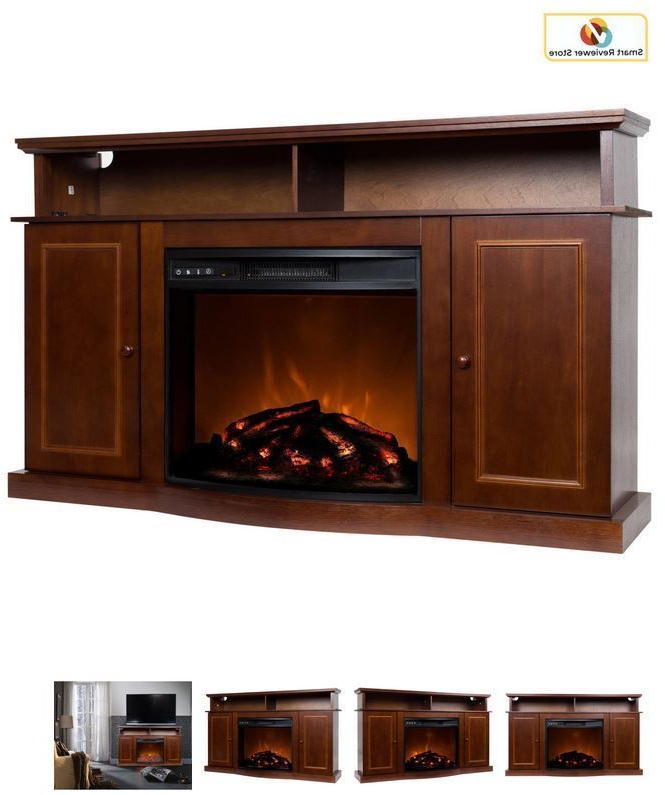 2020 56 Inch Tv Stand With Fireplace Media Console Electric For Kemble Tv Stands For Tvs Up To (View 12 of 20)