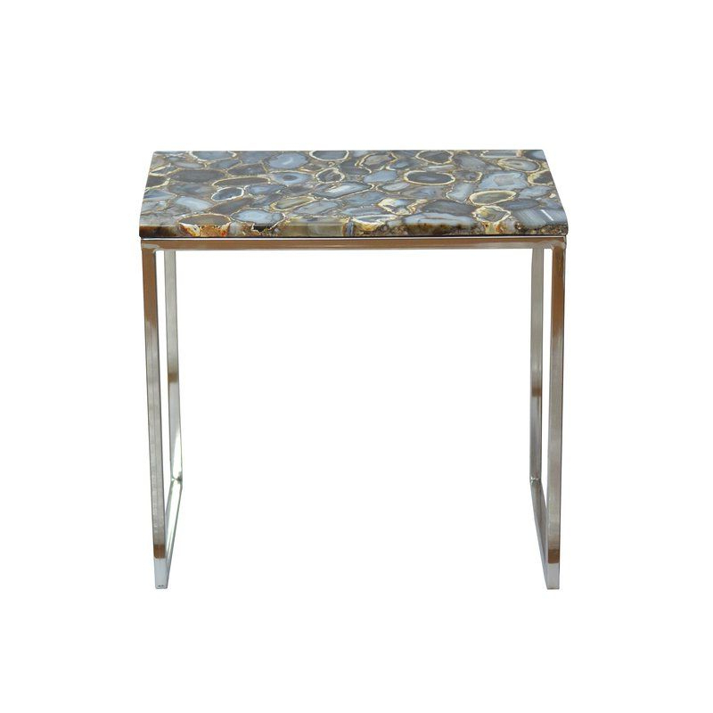 2020 Arvada Sled End Table (View 5 of 20)