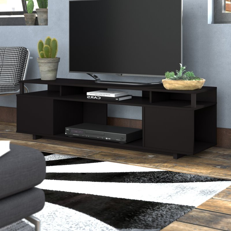 """2020 Ebern Designs Chet Tv Stand For Tvs Up To 65"""" & Reviews Throughout Binegar Tv Stands For Tvs Up To 65"""" (View 20 of 20)"""