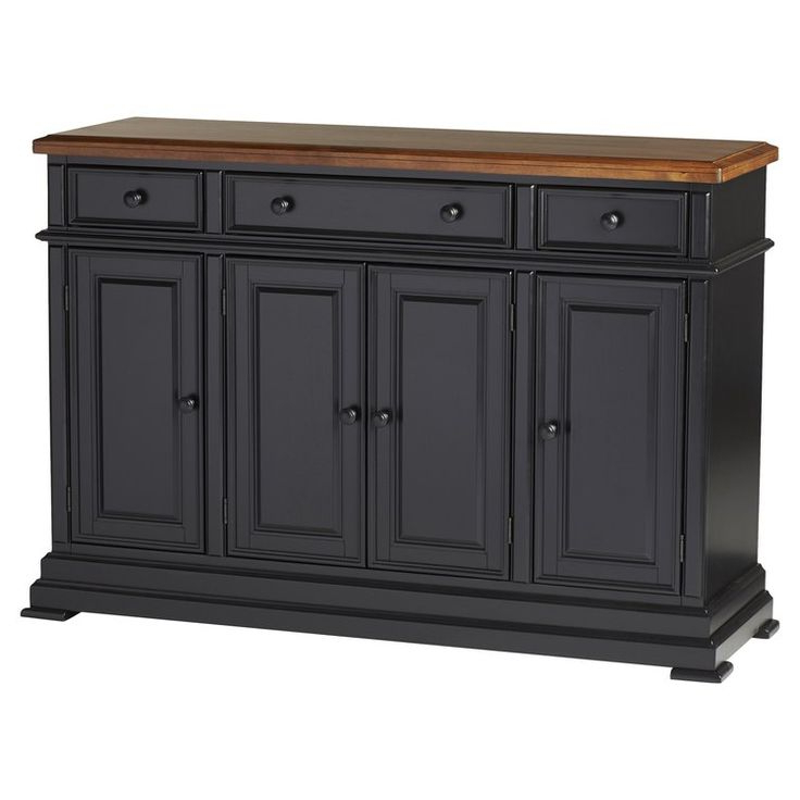 """2020 Emmie 84"""" Wide Sideboards In Three Posts™ Courtdale 60"""" Wide 3 Drawer Sideboard (View 16 of 20)"""