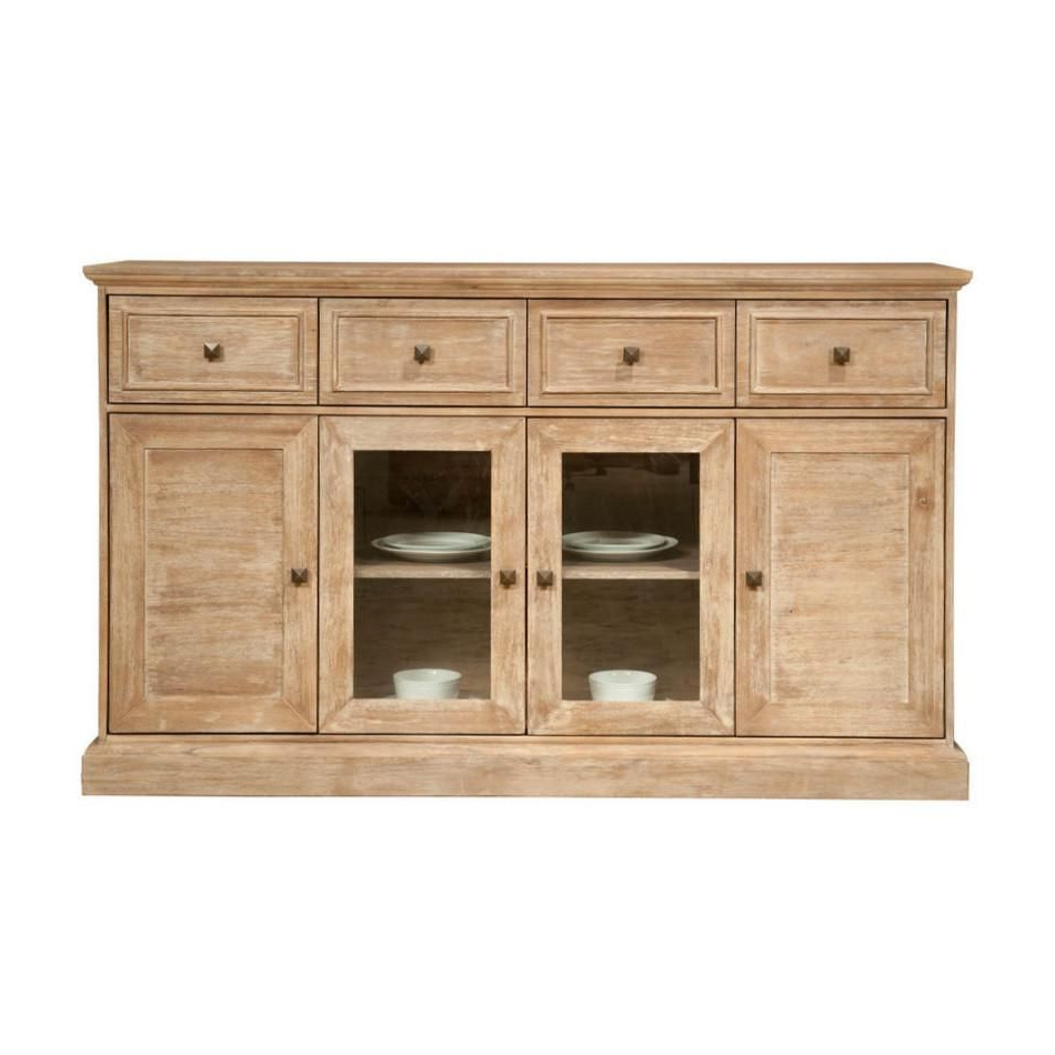 """2020 Hargrove 72"""" Wide 3 Drawer Mango Wood Sideboards With Ideakathy Richey On Dining Tables (View 3 of 20)"""