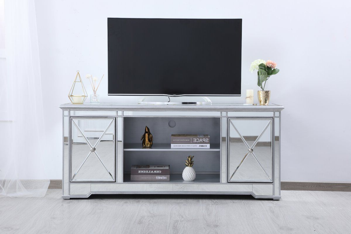 """2020 House Of Hampton® Lilianna Tv Stand For Tvs Up To 70 With Regard To Herington Tv Stands For Tvs Up To 60"""" (View 2 of 20)"""