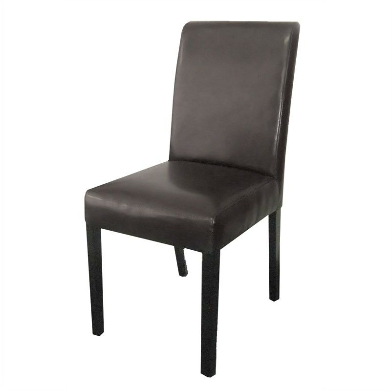 2020 Rayden Sideboards Intended For Rayden Pu Upholstered Dining Chair – Black/wenge (View 19 of 20)