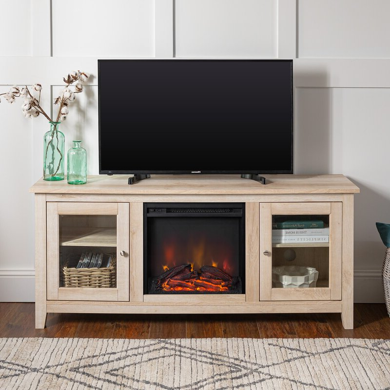 """2020 Zipcode Design™ Kohn Tv Stand For Tvs Up To 65"""" With Intended For Bloomfield Tv Stands For Tvs Up To 65"""" (View 11 of 20)"""