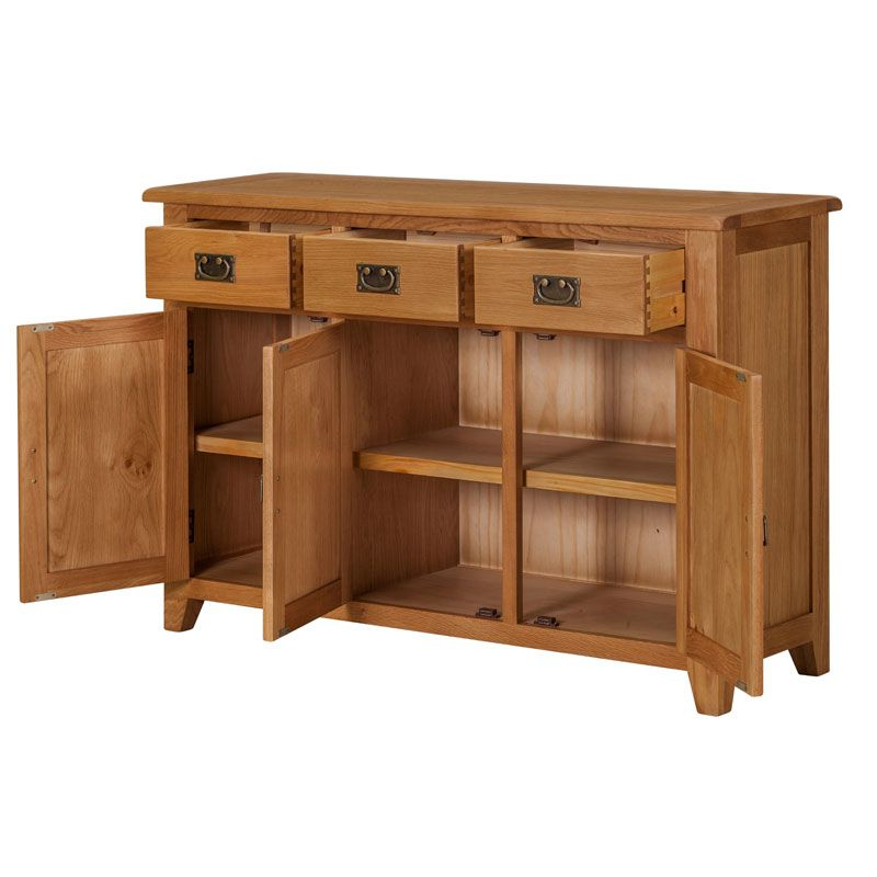 3 Drawer Sideboards Within Famous Buy Somerset 3+3 Drawer Sideboard Cupboard – Online At (View 7 of 20)