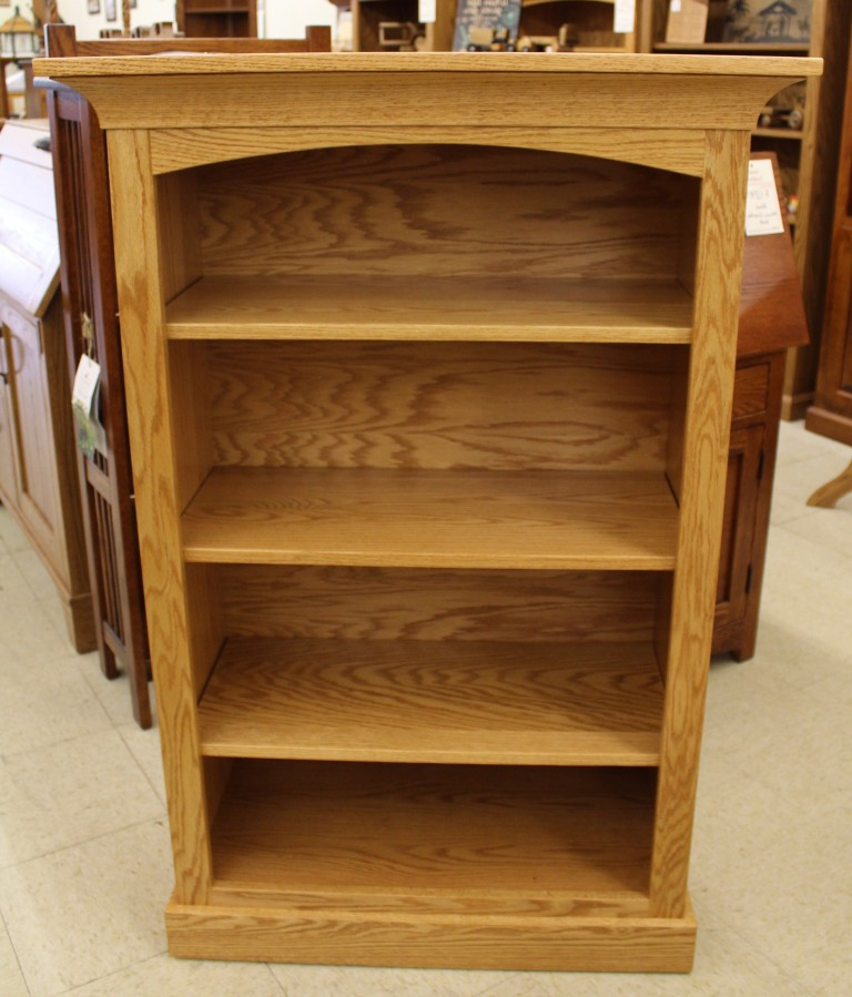 """[%4′ Deluxe Mission Bookcase [32 1/2″ Wide] 