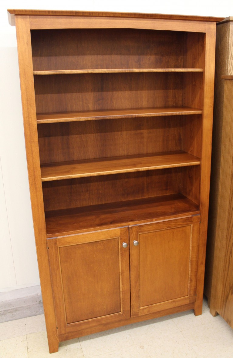 """[%6′ Danville Bookcase With Doors [42″ Wide] 