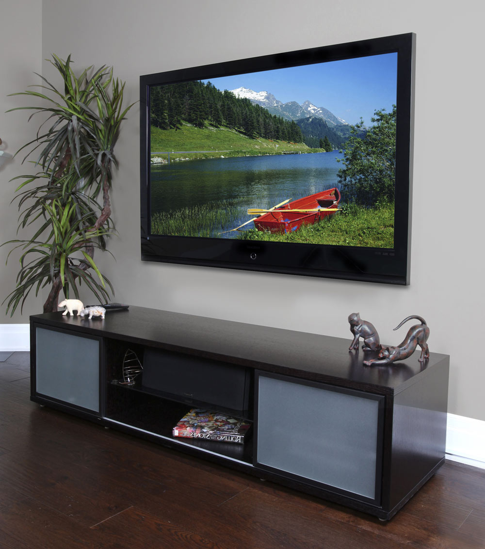 """75 Inch Tv Stand With Storage In Tv Stands Pertaining To Current Lucille Tv Stands For Tvs Up To 75"""" (View 20 of 20)"""
