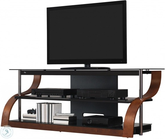 """Adora Tv Stands For Tvs Up To 65"""" Intended For Most Popular Bell'o Espresso 65"""" Tv Stand From Twin Star International (View 20 of 20)"""