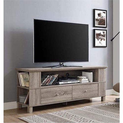 """Adrien Tv Stands For Tvs Up To 65"""" Inside Well Liked Walker Edison 65 Inch Tv Stand With Multimedia Storage (View 3 of 20)"""