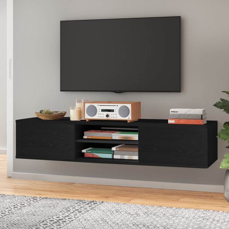 """Adrien Tv Stands For Tvs Up To 65"""" With Regard To Most Up To Date Agora Floating Tv Stand For Tvs Up To 65"""" & Reviews (View 12 of 20)"""