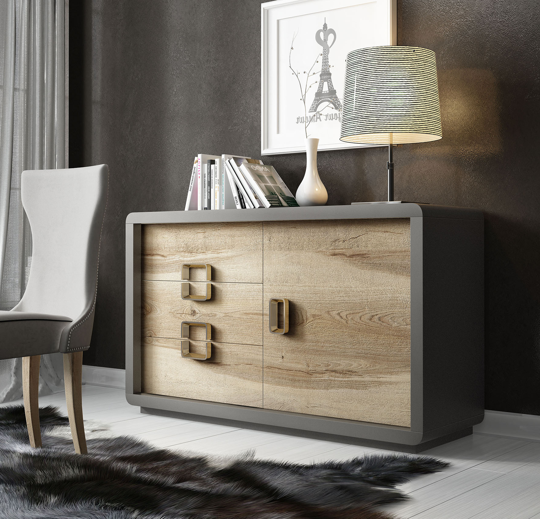 Aii.27 Sideboard, Franco Azkary Ii Sideboards, Spain, Brands Within Current Ebenezer (View 11 of 20)