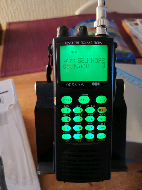 Ar8200 Mk3 Wideband Receiver (View 18 of 20)