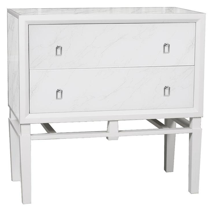 Ava Mirrored Buffet White Entertainment Storage Si Within Fashionable Revere (View 11 of 20)