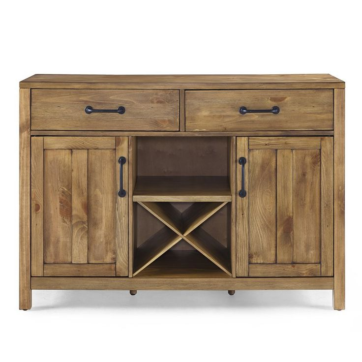 """Avenal 52"""" Wide 2 Drawer Sideboard (View 12 of 20)"""