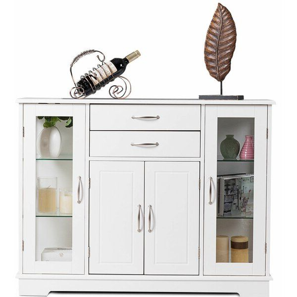 """Bathroom Floor Storage For Fashionable Reece 79"""" Wide Sideboards (View 20 of 20)"""