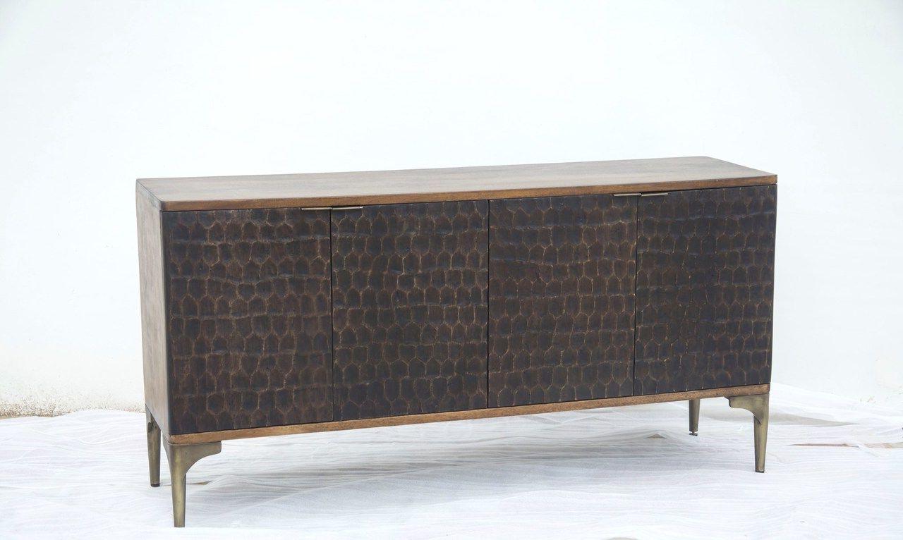 "Beckenham 73"" Wide Mango Wood Buffet Tables In Newest Santa Cruz Sideboard (View 6 of 20)"