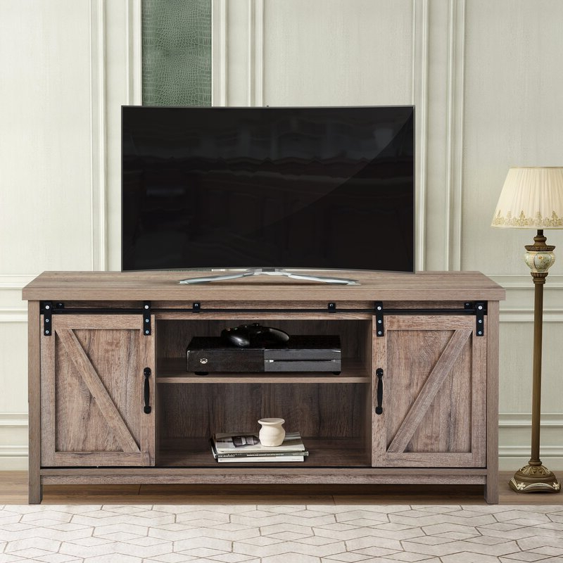 """Berene Tv Stands For Tvs Up To 58"""" Pertaining To Widely Used Union Rustic Charli Tv Stand For Tvs Up To 58"""" (View 7 of 20)"""