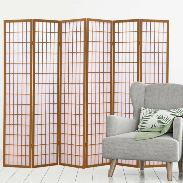 Best And Newest 3/4/6/8 Panel Room Divider – Free Delivery – Price From Throughout Follett (View 17 of 20)