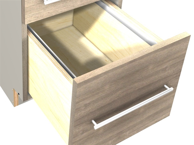 Best And Newest File Drawer Base Cabinet (1 File Drawer At Bottom, Two In Stotfold (View 8 of 20)