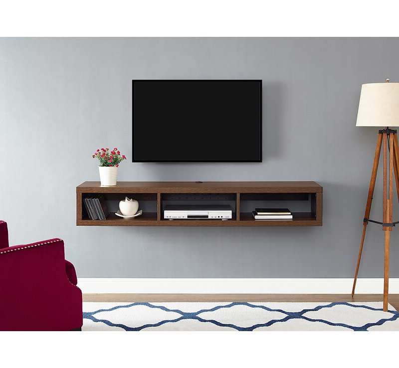 """Best And Newest Orren Ellis Moats Floating Tv Stand For Tvs Up To 78 Regarding Miah Tv Stands For Tvs Up To 60"""" (View 13 of 20)"""