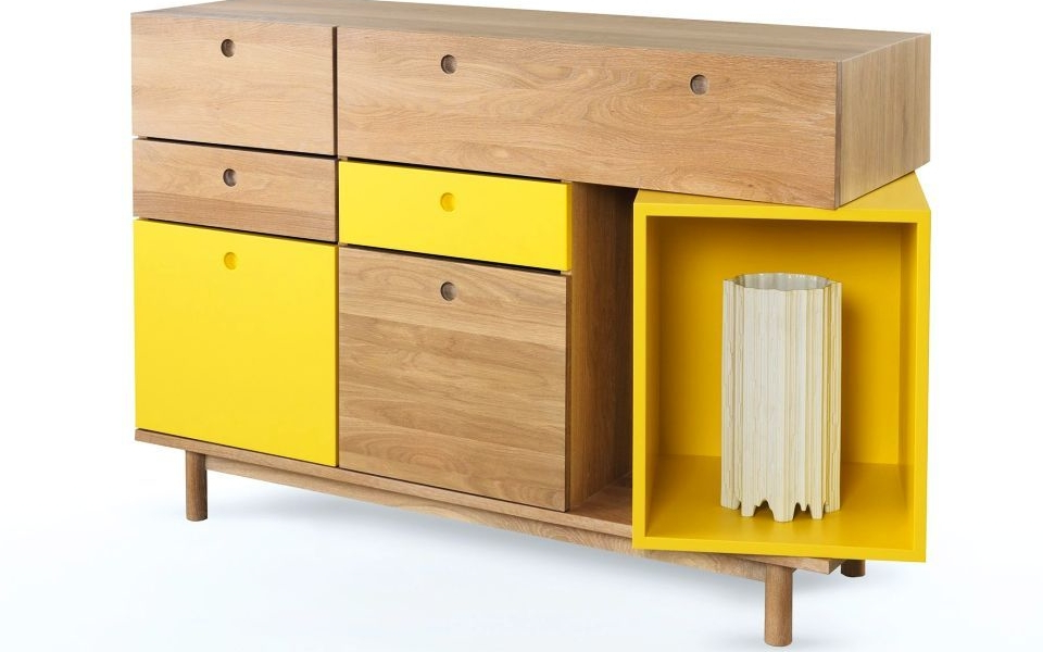 Best And Newest Pandora Sideboard's Playful Two Tone Design Features A With Regard To Pandora Buffet Tables (View 13 of 20)