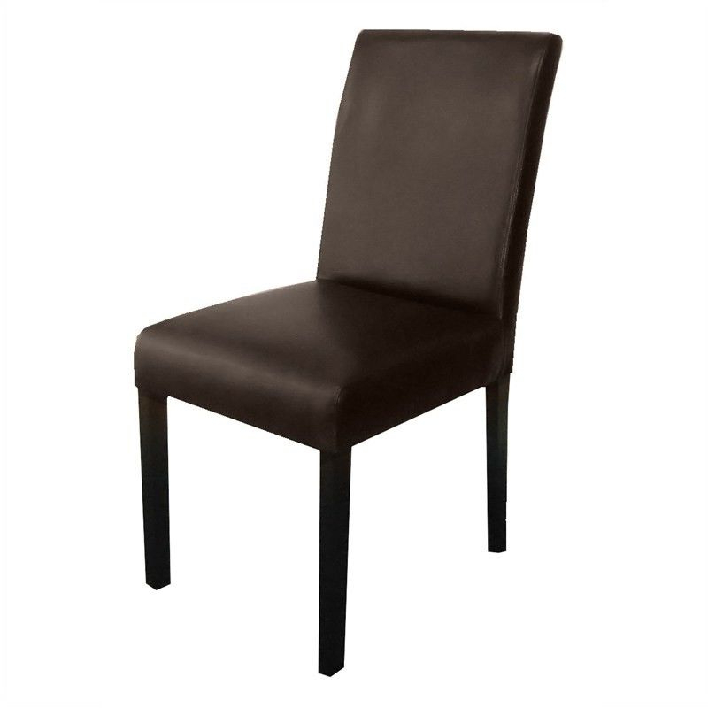 Best And Newest Rayden Pu Upholstered Dining Chair – Dark Brown/wenge Inside Rayden Sideboards (View 18 of 20)