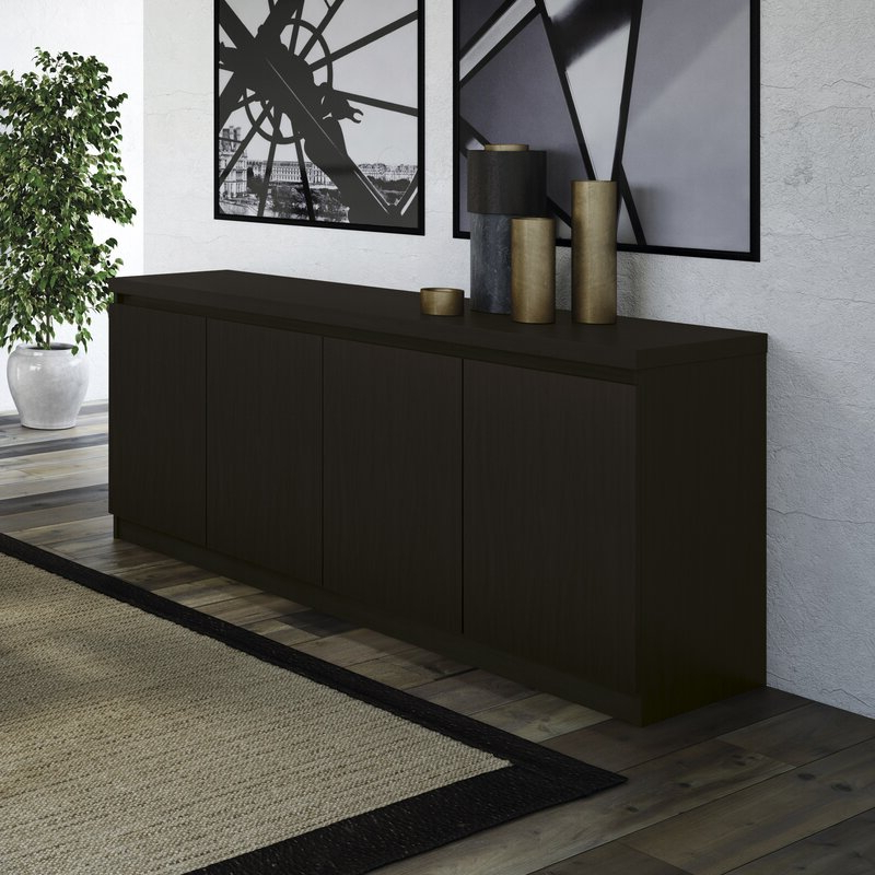 """Best And Newest Wrought Studio Miruna 63"""" Wide Wood Sideboard & Reviews Within Miruna (View 5 of 20)"""