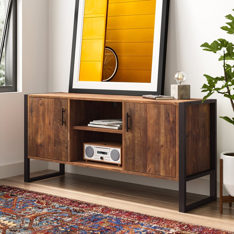 """Binegar Tv Stands For Tvs Up To 65"""" Pertaining To Most Up To Date Allmodern Rochester Tv Stand For Tvs Up To 65"""" & Reviews (View 2 of 20)"""