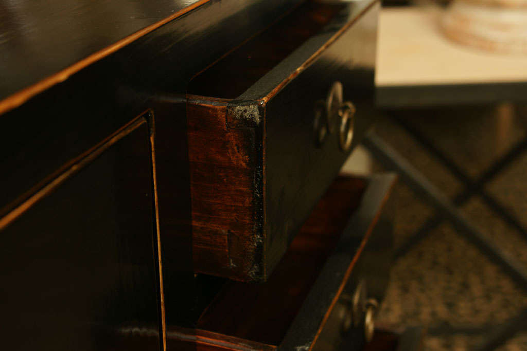 Black Lacquered Elmwood Cabinet At 1stdibs Throughout Widely Used Danby  (View 7 of 20)