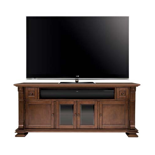 Blaire Solid Wood Tv Stands For Tvs Up To 75 Pertaining To Current Bello Elegant Solid Wood Tv Cabinet For 75 Inch Tvs Mocha Pr (View 9 of 20)