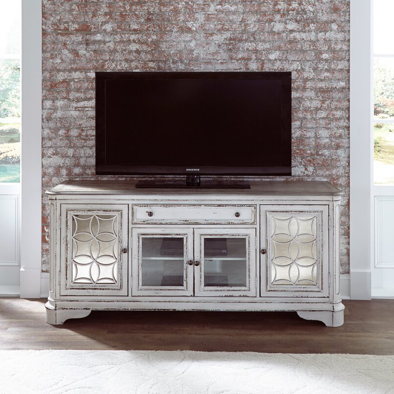 """Blaire Solid Wood Tv Stands For Tvs Up To 75 Throughout Recent One Allium Way Tavant Tv Stand For Tvs Up To 75"""" & Reviews (View 11 of 20)"""