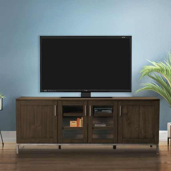 Blaire Solid Wood Tv Stands For Tvs Up To 75 Within Most Recent Union Rustic Riggle Solid Wood Tv Stand For Tvs Up To (View 7 of 20)