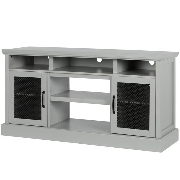 """Bloomfield Tv Stands For Tvs Up To 65"""" Inside 2019 Shop Avenue Greene Bella Sera Dove Gray Tv Stand For Tvs (View 20 of 20)"""