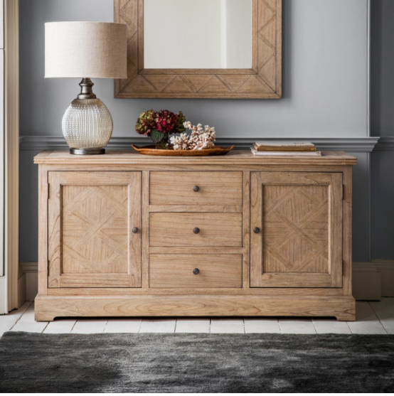 """Bruin 56"""" Wide 2 Drawer Sideboards For Most Up To Date Buy Luxury Courchevel 2 Door,3 Drawer Sideboard In Nsw (View 16 of 20)"""