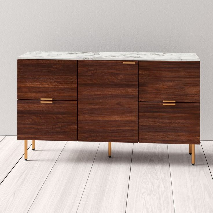 """Buffet Inside Ronce 48"""" Wide Sideboards (View 8 of 20)"""