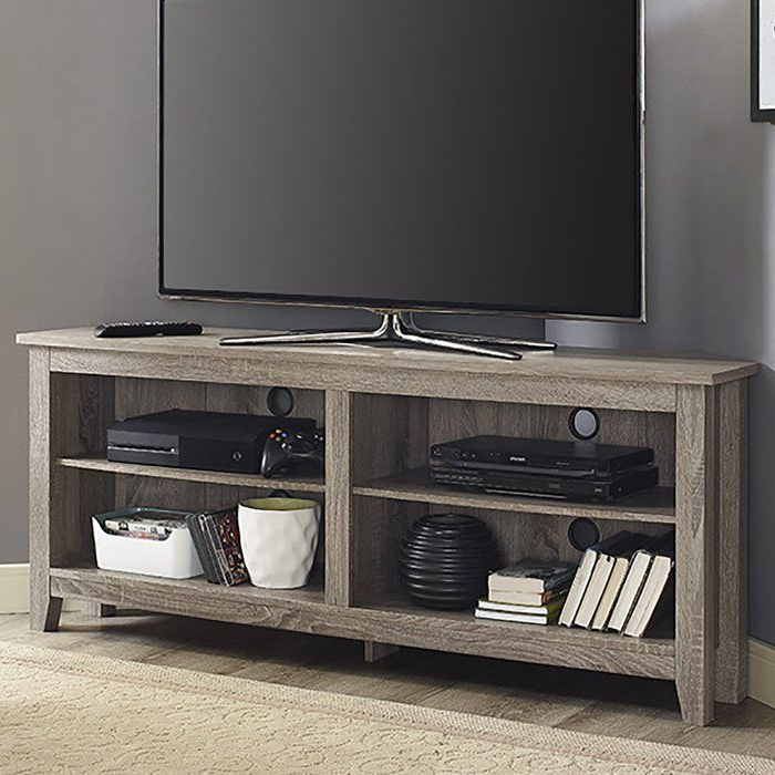 """Campbell Tv Stand For Tvs Up To 60"""" (View 3 of 20)"""